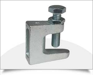 Strut Channel Fittings Spring Channel Nuts Beam Clamps in India Punjab Ludhiana