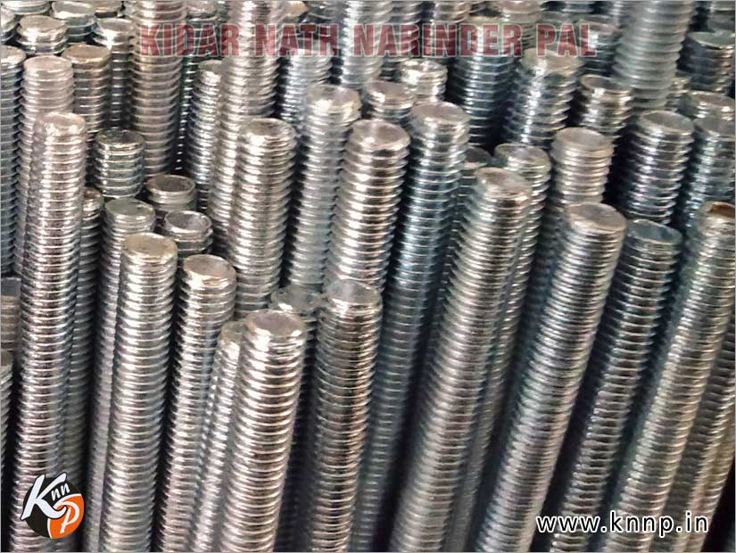 threaded rods thread bars studs manufacturers exporters india ludhiana