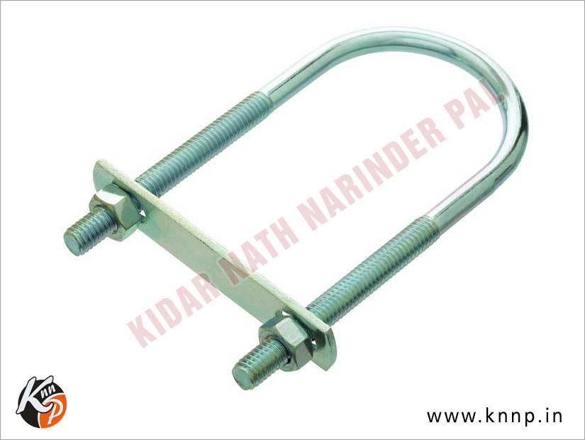 U Bolt Square Bend with Plate manufacturers suppliers India Punjab Ludhiana